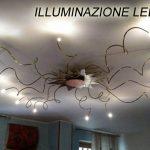 Illuminazione a led  lampadario, interni