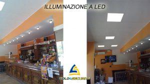 Illuminazione a led bar di Alpignano