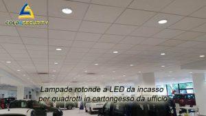 Illuminazione a led concessionario Autoingros