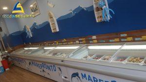 Climatizzazione canalizzata e banchi frigo - macelleria Li Pira di Torino